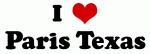 I Love Paris Texas