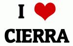 I Love CIERRA