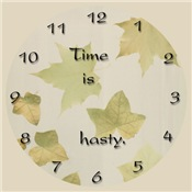 Time is Hasty Clocks