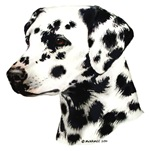 Dalmatian items with this design (black & white)
