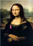 Pink Ribbon Mona Lisa