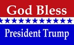 God Bless President Trump