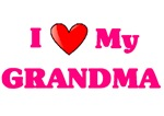 I Love my Grandma pink