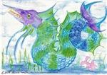 Marlin Dragon Sea Serpent