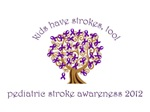 Pediatric Stroke Ribbon Tree