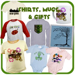 Eco Themed Clothing & Gifts