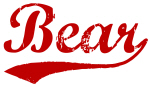 Bear (red vintage)