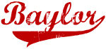 Baylor (red vintage)