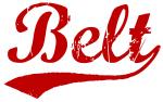 Belt (red vintage)