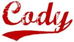 Cody (red vintage)