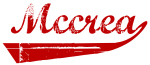 Mccrea (red vintage)