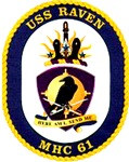 USS Raven MHC-61 Navy Ship