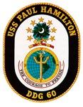 USS Paul Hamilton DDG 60 Navy Ship