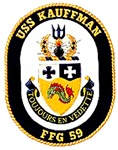 USS Kauffman FFG-59 Navy Ship