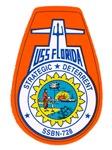 USS Florida SSBN 728 Navy Ship