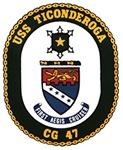 USS Ticonderoga CG 47 USS Navy Ship