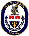 USS Klakring FFG 42 US Navy Ship