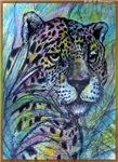 Jaguar, wildlife art
