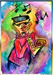 Music, fun art