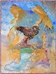 Sparrow, bird art
