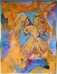 Canary, bird art