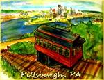 Pittsburgh, PA! Colorful art!