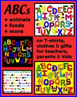 ALPHABET T-SHIRTS FOR KIDS, PARENTS & TEACHERS