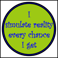 SIMULATED REALITY T-SHIRTS & GIFTS