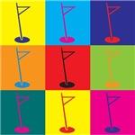 Golf Pop Art