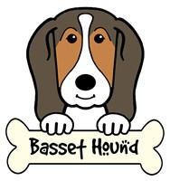 Personalized Basset Hound