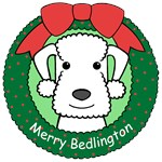 Bedlington Terrier Christmas Ornaments