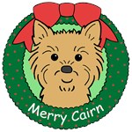 Cairn Terrier Christmas Ornaments