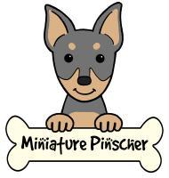 Personalized Miniature Pinscher