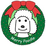 Poodle Christmas Ornaments