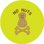 Keep Away From the Nuts (lime)