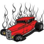 Flamed Hotrod