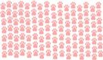 Pink Paw Prints
