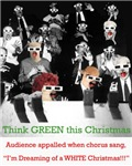 Think GREEN this Christmas: Audience appalled whe