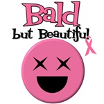 Bald But Beautiful Breast Cancer T-Shirts
