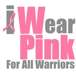 I Wear Pink For All Warriors T-Shirts & Gifts