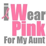 I Wear Pink For My Aunt T-Shirts & Gifts