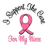 I Support The Cure For My Niece T-Shirts