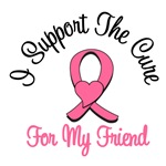 I Support The Cure For My Friend T-Shirts