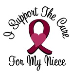 I Support The Cure Myeloma (Niece) T-Shirts