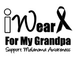 I Wear Black Ribbon For My grandpa T-Shirts & Gift