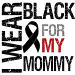 I Wear Black For My Mommy Shirts & Gifts