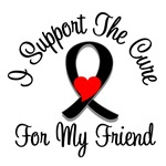 I Support The Cure Melanoma Friend Shirts & Gifts