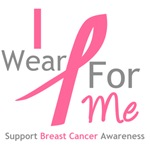 I Wear Pink For Me Shirts, Tees & Gifts