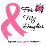 Breast Cancer For My Daughter Shirts & Gifts
