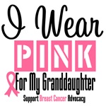 I Wear Pink For My Granddaughter Shirts